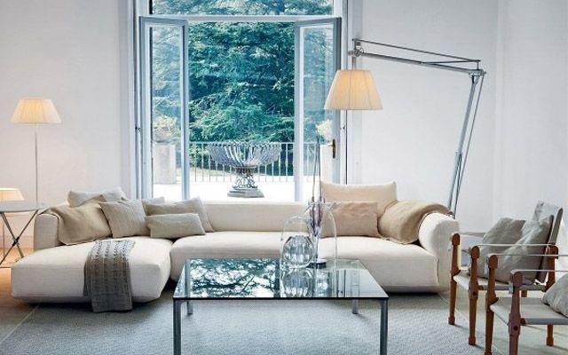 Ideas para decorar salones con l mparas de pie decoracion - Ver lamparas de pie para salon ...