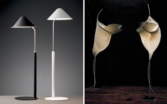 Decoración de salones con lámparas de pie
