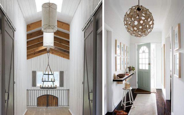 Cómo iluminar el pasillo - Ideas para decorar el pasillo con iluminación