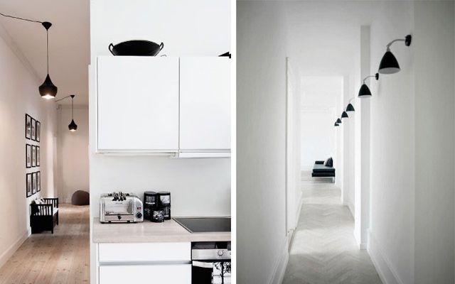 Cómo iluminar el pasillo - Ideas para decorar el pasillo con la iluminación