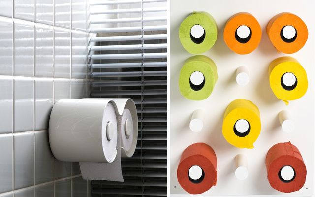 ideas para decorar el bao con papel higinico