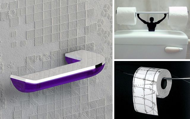 Ideas para decorar el baño con papel higiénico