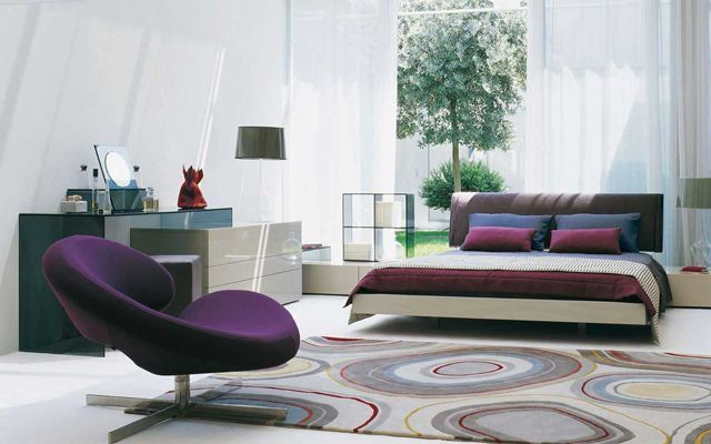 Psicología del color violeta o morado