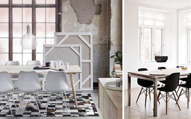 ideas para decorar comedores con sillas eames