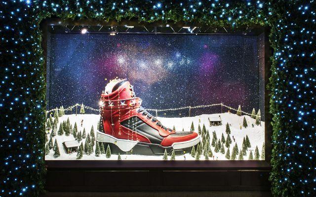 Escaparatismo - Decoración de escaparates en Navidad