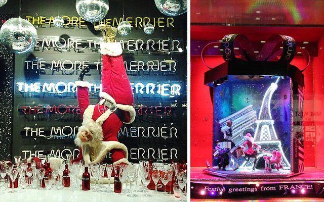 scaparatismo - Decoración de escaparates en Navidad
