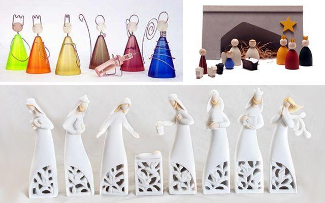 Ideas para decorar con belenes de navidad originales for Ideas originales decoracion navidad
