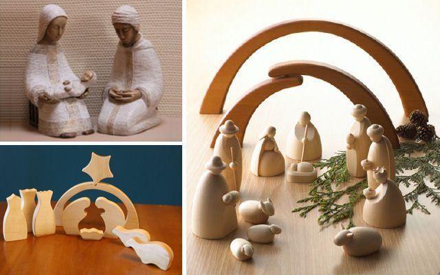 Ideas para decorar con belenes de navidad originales - Portales de belen originales ...