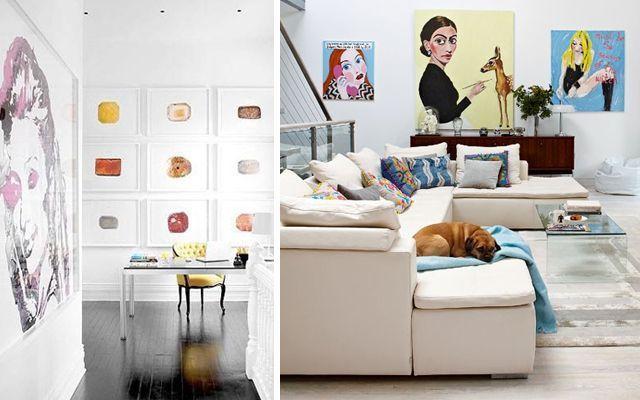 Arte y decoración - La ilustración como disciplina artística para decorar.