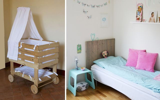 Ideas para decorar dormitorios con pallets for Ideas para hacer con palets