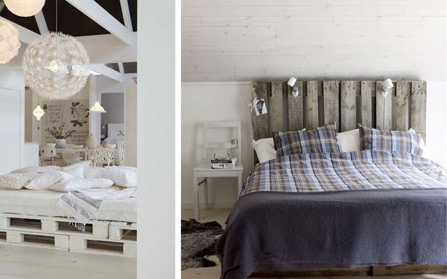 Ideas para decorar dormitorios con pallets - Palets para decorar ...