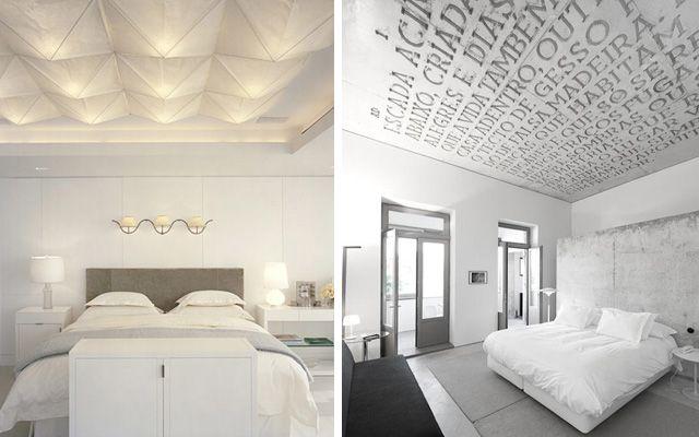 Ideas para decorar dormitorios con techos originales