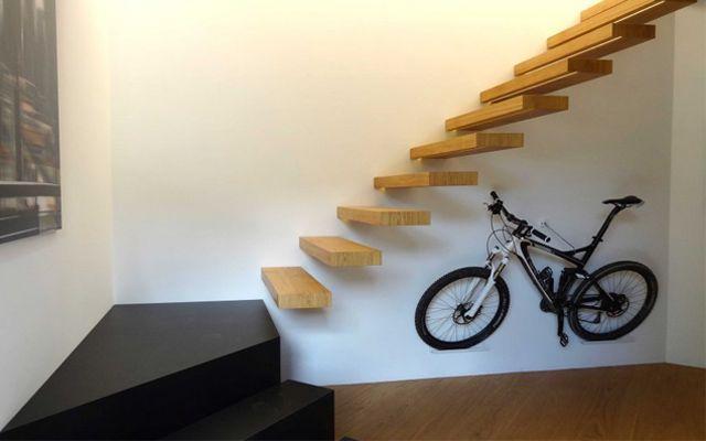 Escaleras modernas - Ideas para decorar con escaleras voladas