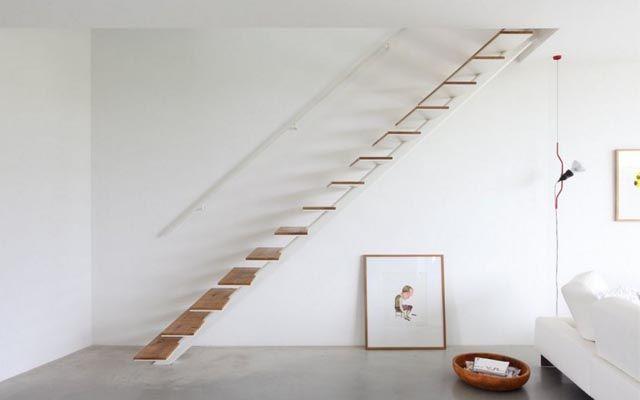 Modern Merdivenler - Merdivenlerle süslemek için fikirler