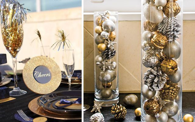Ideas para decorar en Nochevieja 2015