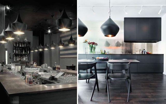 Lámparas de diseño Beat Shade de Tom Dixon para decorar viviendas, tiendas y restaurantes