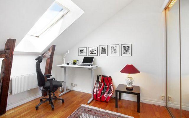 Estudios, despachos o zonas de trabajo en la buhardilla