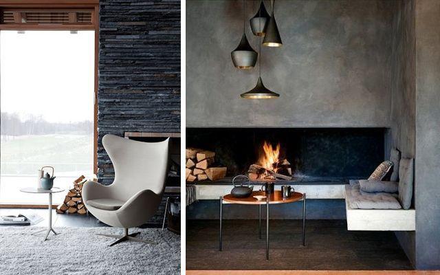 30 ideas para decorar el rinc n chimenea blogs de decoracion - Decorar un rincon del salon ...
