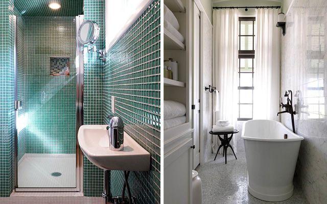 8 pautas de decoración para baños pequeños