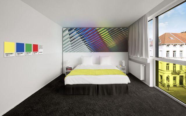 Locales de diseño: el Hotel Pantone (Bruselas)