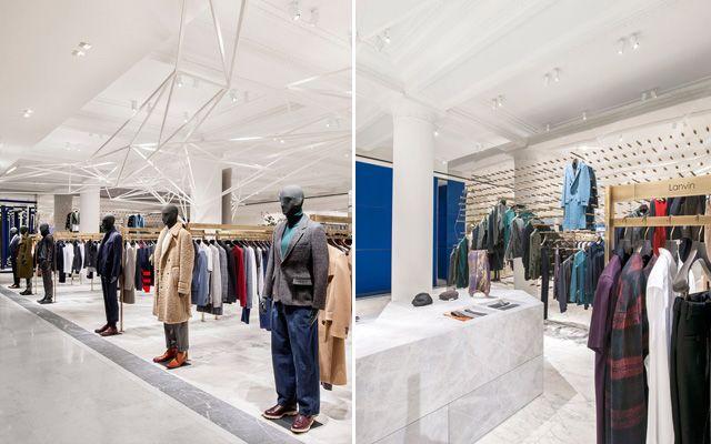 Decoraci n de tiendas minimalismo vs color for Tiendas muebles minimalistas
