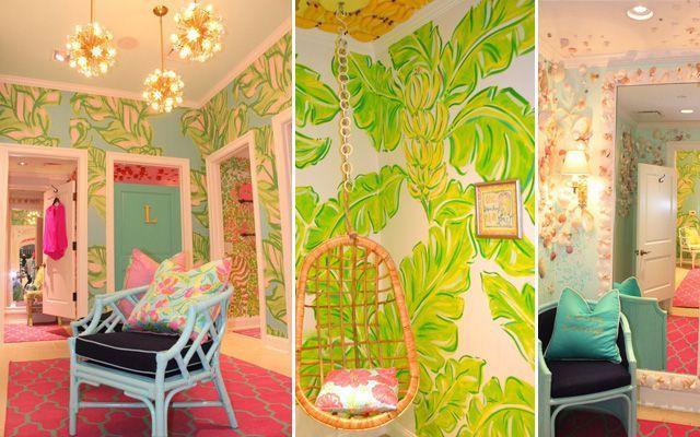 Decoración de tiendas elegantes y minimalistas y decoración de tiendas alegres y coloridas