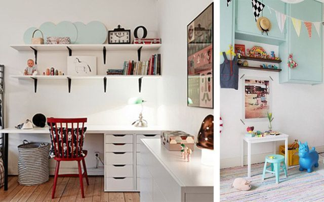 Ideas para decorar el espacio de trabajo infantil - Ideas decorar habitacion infantil ...
