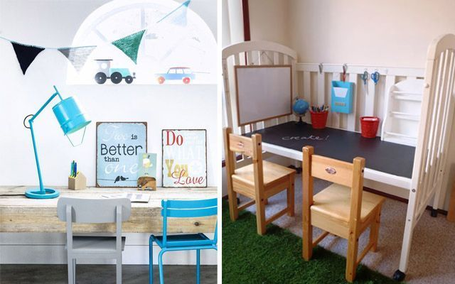 Ideas para decorar el espacio de trabajo infantil - Ideas para decorar habitacion infantil ...
