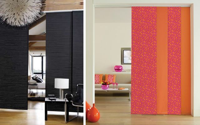 Decorar con paneles japoneses for Ideas para dividir ambientes