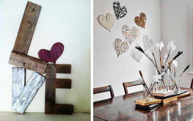 Ideas modernas para decorar en San Valentín
