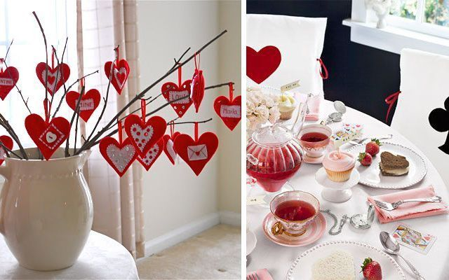 la decoracion en san valent n On decoracion san valentin pinterest