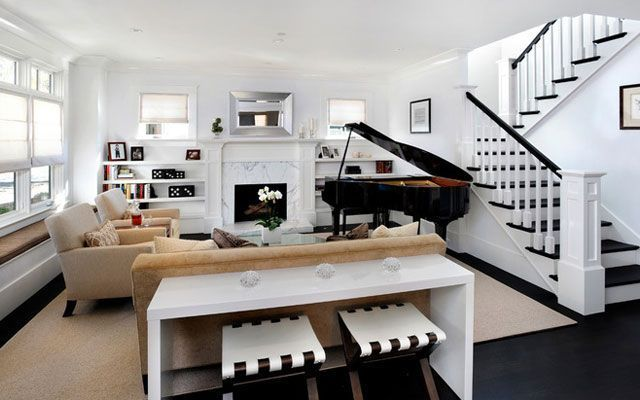 Black And White Home Offices together with I309803 Mercer Large 3 Seat Sofa moreover Driveway Entrance Ideas Exterior Traditional With Paver Edging Double Column Shingle Style House also Interview Donny And Debbie On Donny Osmond Home also 9MPu7IWWtawXadtM. on transitional style couch