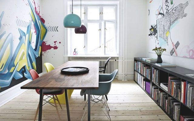 decoracin con graffitis