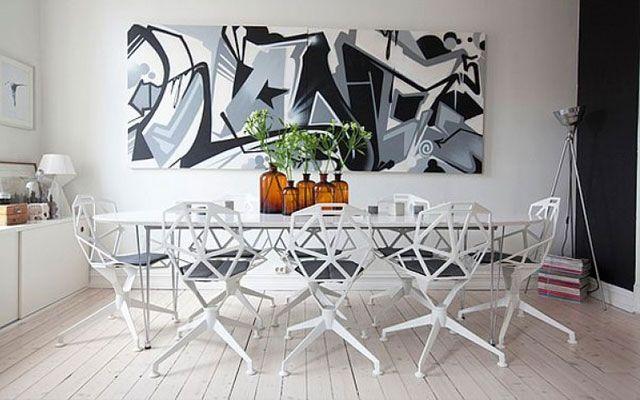 decoracin con graffitis