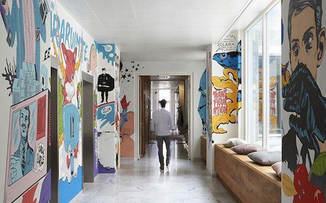 Decoración con graffitis