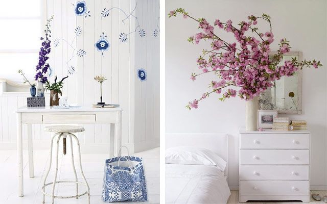 Ideas para decorar con flores
