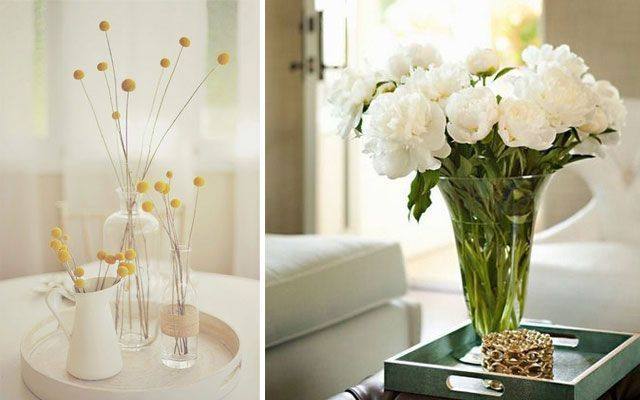 Ideas para decorar con flores for Decoracion de oficinas con plantas