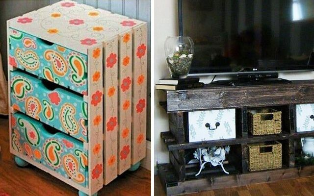 Ideas para decorar con pallets - Mobiliario y asientos