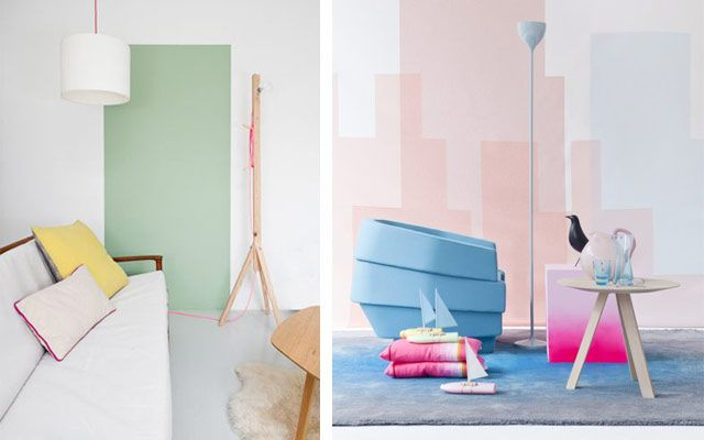 Pastel renklerde dekorasyon fikirleri