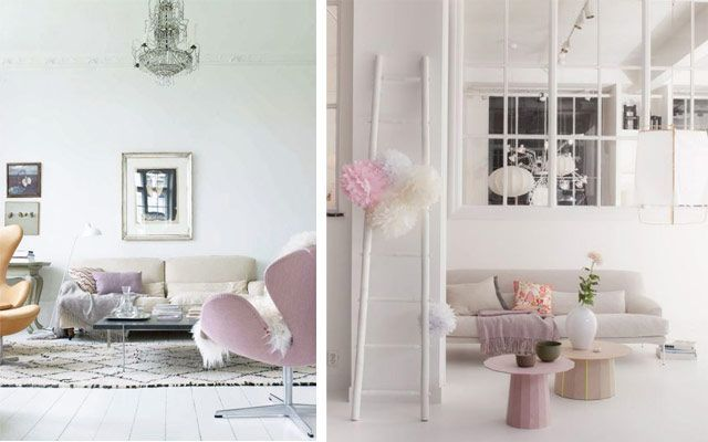 Ideas para decorar en colores pastel - Complementos decoracion salon ...