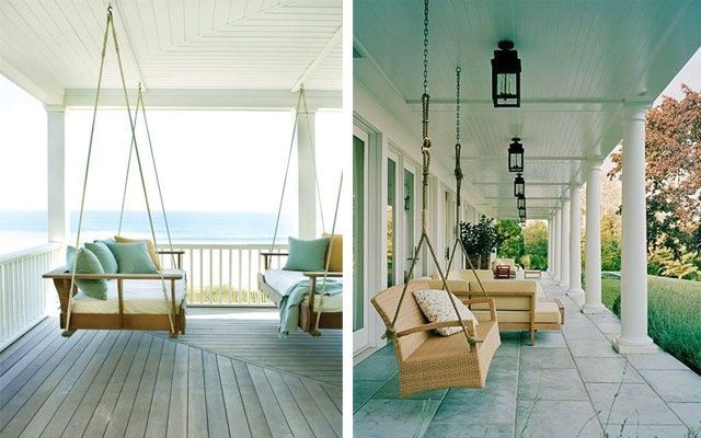 C mo decorar terrazas amplias y porches for Ideas para porches