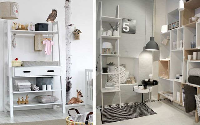 50 ejemplos para decorar con estanter as originales - Estanterias para casa ...