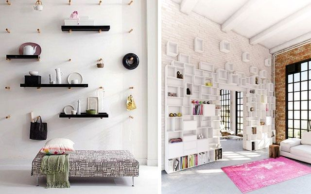 50 Ejemplos Para Decorar Con Estanter As Originales