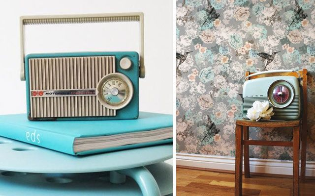 | Trucos e ideas para decorar con radios antiguas