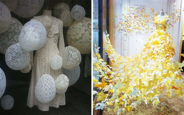 Ideas para decorar escaparates en primavera
