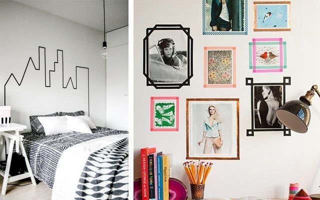 Ideas para decorar con Washi Tape