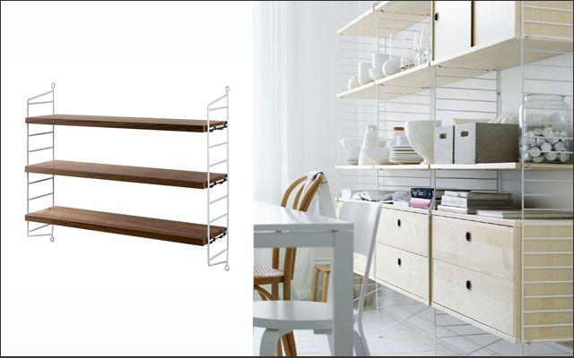 Muebles de diseño - Estantería String de Nisse Strinning