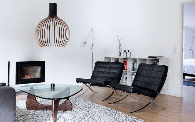 Noguchi'nin iç tasarımdaki masası