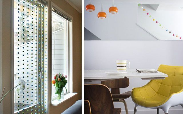 ideas para decorar con guirnaldas