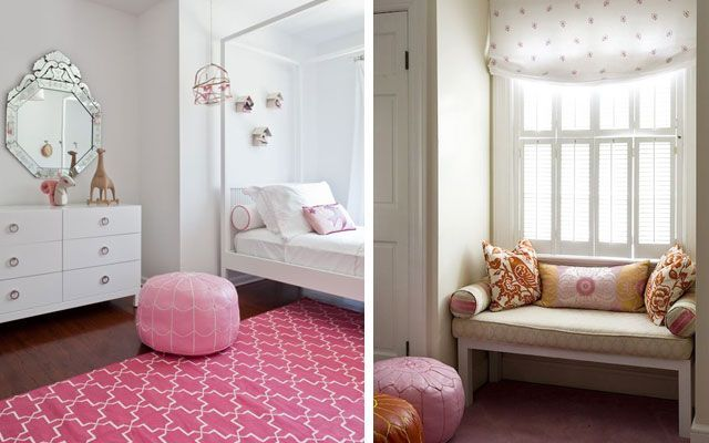 ideas para decorar con pufs marroquies